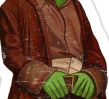 Firefrog (Firefly / The Muppets) - Mal / Kermit Sticker