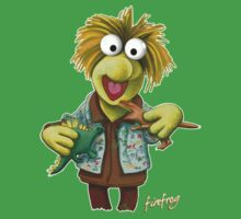 Firefrog (Firefly / The Muppets) - Wash / Wembley Fraggle Kids Clothes