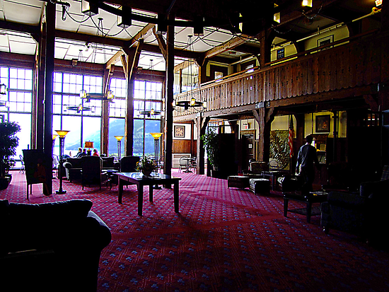In The Lobby-1927 Style by George Cousins