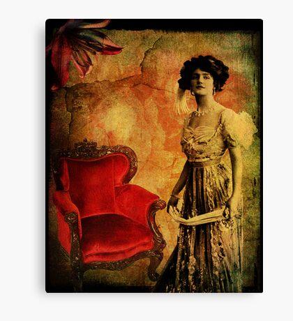 Aged Velvet Canvas Print