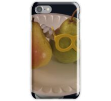 Pear Parody .07 iPhone Case/Skin