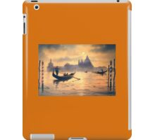Sunset On The Grand Canal Venice iPad Case/Skin