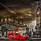 London Sightseeing Tours bus by LudaNayvelt