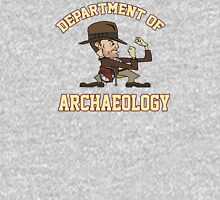 Dept. of Archaeology with Fighting Mascot Unisex T-Shirt