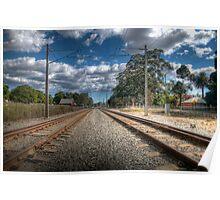 Guildford Tracks Poster