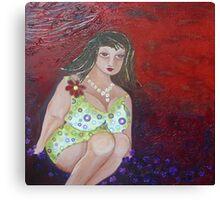 Buxom Belle Canvas Print