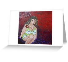 Buxom Belle Greeting Card