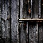 Barn Detail by Laurie Minor