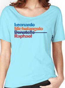 Leonardo, Michelangelo, Donatello, Raphael Women's Relaxed Fit T-Shirt