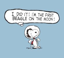 Snoopy on the Moon by pARTick