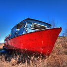 A boat ashore by zumi