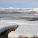 Ice on lake IV by zumi