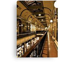 Adelaide Arcade upstairs Canvas Print