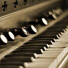 Keys of Ivory - Sepia by Melissa-Louise
