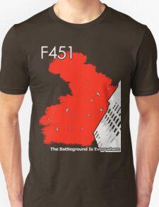 The Battleground Is Everywhere (red) T-Shirt