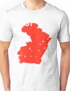 The Battleground Is Everywhere (red) Unisex T-Shirt