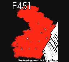 The Battleground Is Everywhere (red) Unisex T-Shirt