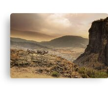 The Bluff 3/3 Canvas Print