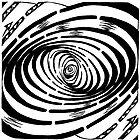Swirl Wave Maze by Yonatan Frimer by Yonatan Frimer