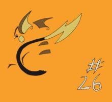 Pokemon 26 Raichu by methuselah
