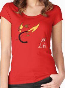 Pokemon 26 Raichu Women's Fitted Scoop T-Shirt