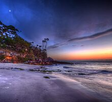 Footprints at Dawn by Ian English
