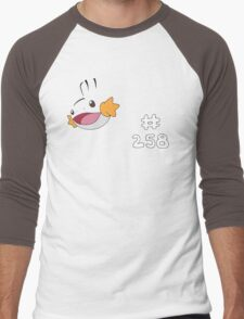 Pokemon 258 Mudkip Men's Baseball ¾ T-Shirt