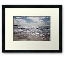 The Silver Sea. Framed Print