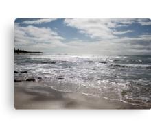 The Silver Sea. Canvas Print