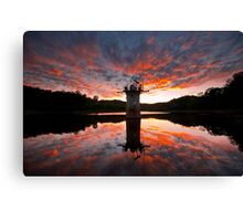 Almost Too Late (to see the sunset) Canvas Print