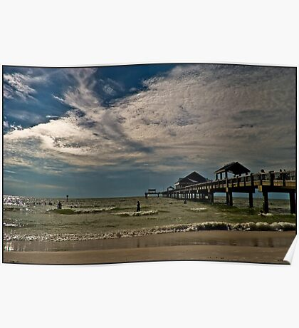 Clearwater Beach Florida Poster