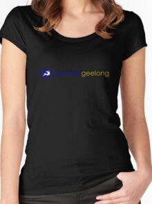 BarCampGeelong 2011 Women's Fitted Scoop T-Shirt