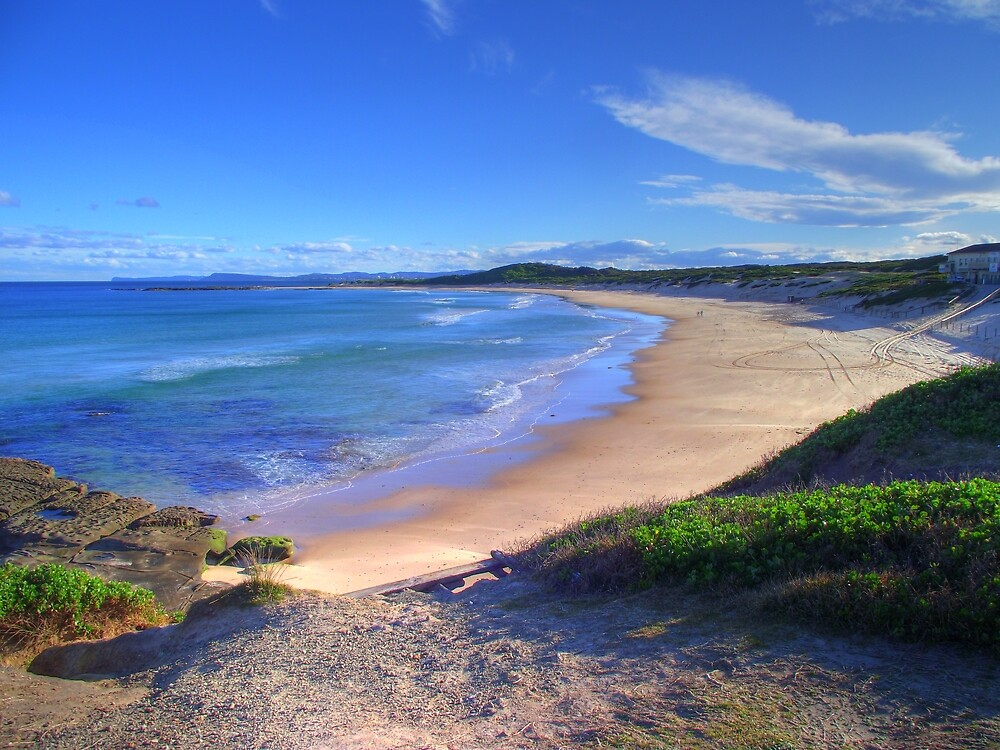 Anna Bay Beach by Scott Mclaren