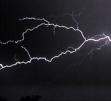 "6/8/2011 Electrical Storm, ""Lightning Strike # 3"" by kailani carlson"