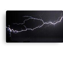 "6/8/2011 Electrical Storm, ""Lightning Strike # 3"" Canvas Print"