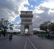 Arc de Triomphe, Paris by Carol Dumousseau