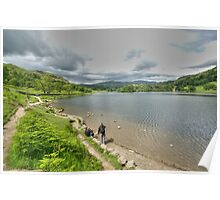 View over Rydal Water Poster