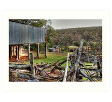 The Abandoned Farm Art Print