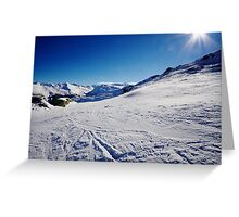 Gasteinertal Alps #4 Greeting Card