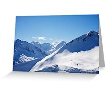 Gasteinertal Alps #3 Greeting Card
