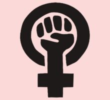 Feminist Fist by Earth-Gnome