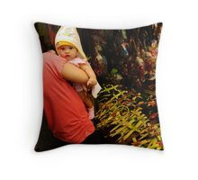 Faith and Tradition Throw Pillow