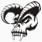 Plague Skull by Per Ove Sleen