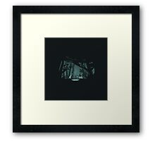 Chasing fireflies Framed Print
