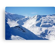 Gasteinertal Alps #1 Canvas Print