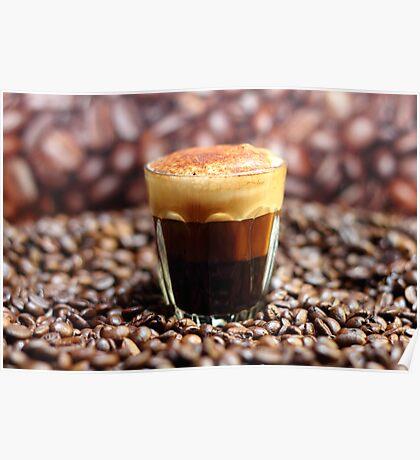 Long Espresso Cappuccino Poster