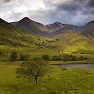 Glen Etive - Woven In Light (Colour Version) by Kevin Skinner