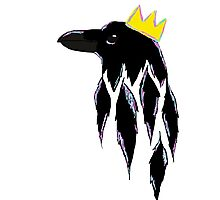 The Raven King Photographic Print