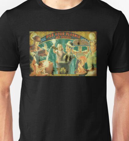 BioShock – Pick Your Plasmid and Evolve! Unisex T-Shirt