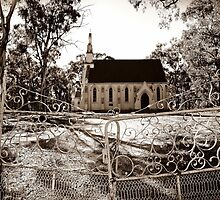 Old Goldfields Church by Julie Sleeman